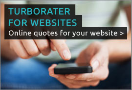 Learn more about our online quoting system for your website, TurboRater for Websites